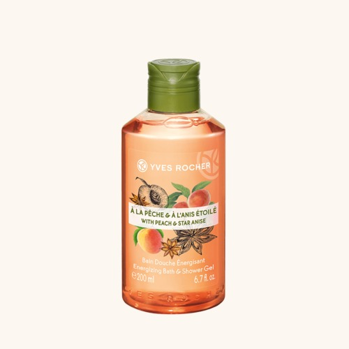 Gel de duș nectar Piersică & Anason Stelat Flacon 200 ml