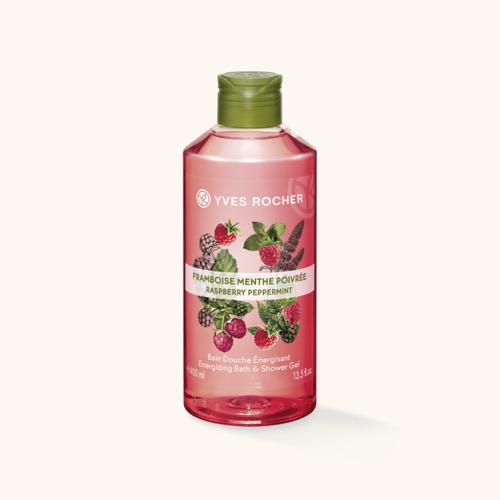 Gel de duș nectar Zmeură & Mentă 400 ml